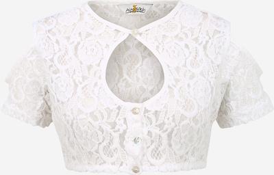 ALMSACH Blouse folklorique en blanc, Vue avec produit