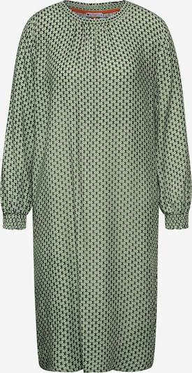 STREET ONE Kleid in hellgrün / schwarz, Produktansicht