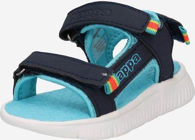 KAPPA Chaussures ouvertes 'KANA' en bleu marine / mélange de couleurs, Vue avec produit