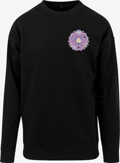 Merchcode Sweatshirt in mischfarben / schwarz, Produktansicht