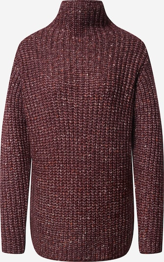 Kaffe Pullover in pink / bordeaux / rostrot, Produktansicht