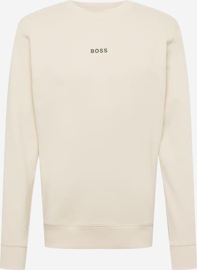 BOSS Casual Sportisks džemperis 'Weevo 1', krāsa - krēmkrāsas, Preces skats