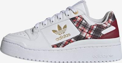 ADIDAS ORIGINALS Sneakers laag 'Forum Bold' in de kleur Goud / Robijnrood / Zwart / Wit, Productweergave