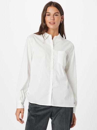 Cream Bluse in weiß, Modelansicht