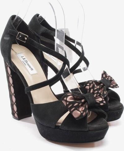 L.K.Bennett Sandaletten in 39 in schwarz, Produktansicht
