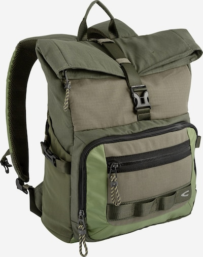 CAMEL ACTIVE Rucksack 'Frederic' in khaki / oliv / hellgrün, Produktansicht