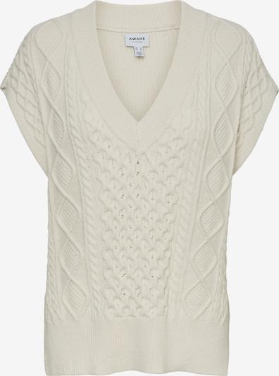 AWARE by Vero Moda Pullover 'Row' in creme, Produktansicht