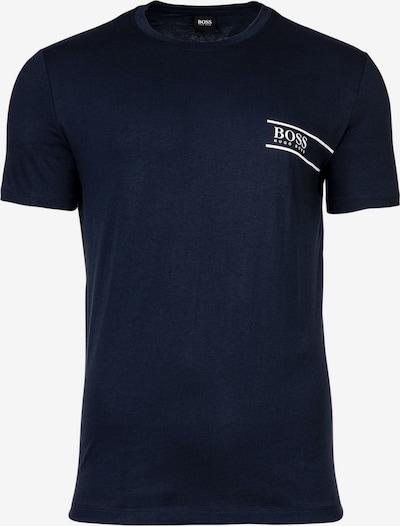 BOSS Casual Shirt in de kleur Donkerblauw / Wit, Productweergave