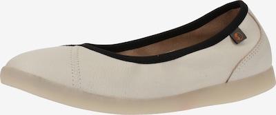 Softinos Ballerines en blanc, Vue avec produit