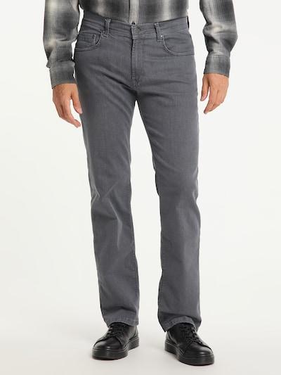 PIONEER Jeans 'RANDO - MEGAFLEX' in grau, Modelansicht