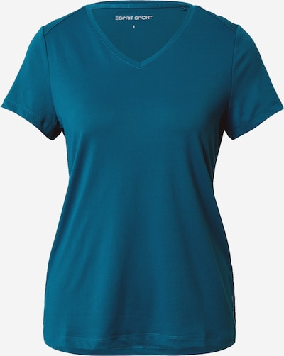 ESPRIT SPORT T-shirt fonctionnel en vert foncé, Vue avec produit