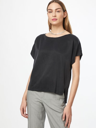 DRYKORN Bluse 'SOMIA' in schwarz, Modelansicht