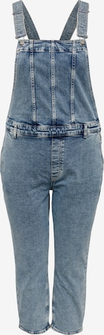 ONLY Carmakoma Tuinbroek jeans 'Percy' in Blauw