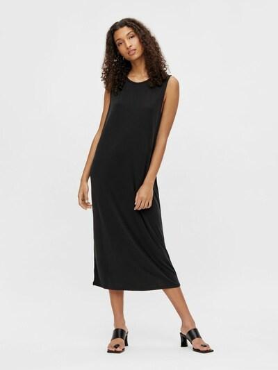 OBJECT Maxikleid in schwarz, Modelansicht