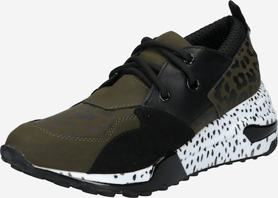 Sneaker low 'CHUNK' Madden Girl pe oliv / negru, Vizualizare produs
