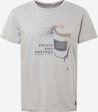 BLEND Shirt in grau / dunkelgrau, Produktansicht