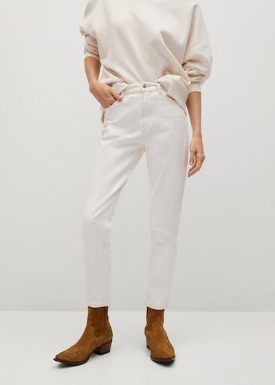 MANGO Jeans in weiß, Modelansicht