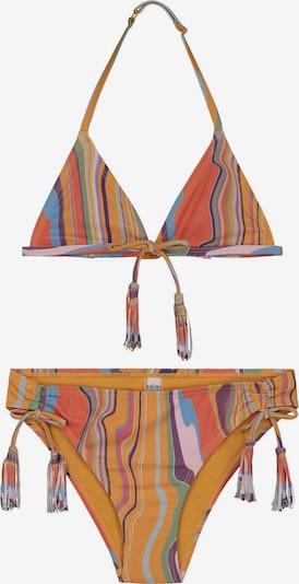 Shiwi Bikini in goldgelb / mischfarben, Produktansicht