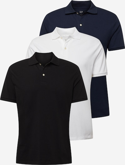 GAP T-shirt i marinblå / svart / vit, Produktvy