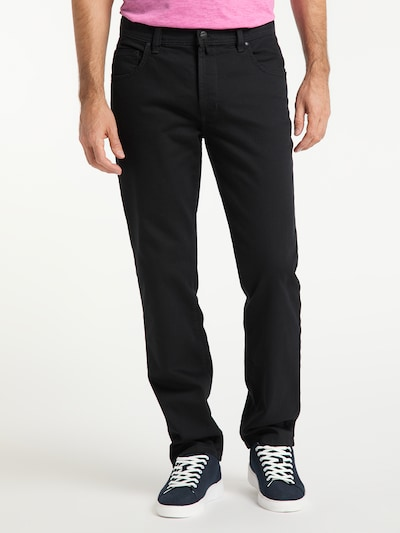 PIONEER Jeans 'PETER' in schwarz / black denim, Modelansicht