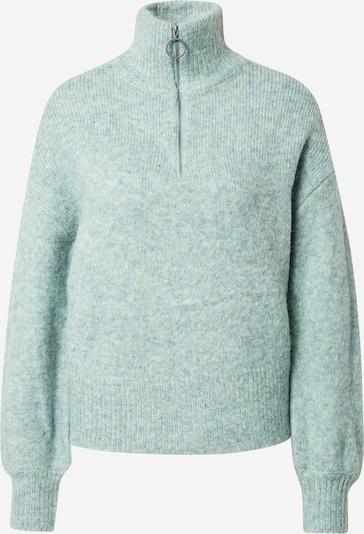 Noisy may Pullover 'TONIS' in hellblau / grau, Produktansicht