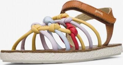 CAMPER Sandalen 'Miko' in de kleur Lichtblauw / Bruin / Geel / Lavendel / Rood, Productweergave