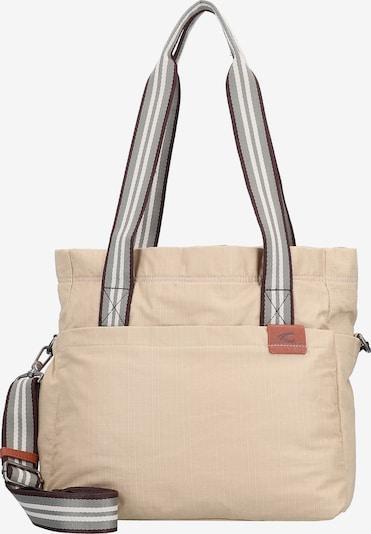 CAMEL ACTIVE Schultertasche  'Blair' in beige / grau / schwarz / weiß, Produktansicht