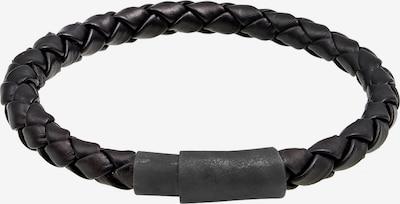 KUZZOI Armband Leder in schwarz, Produktansicht