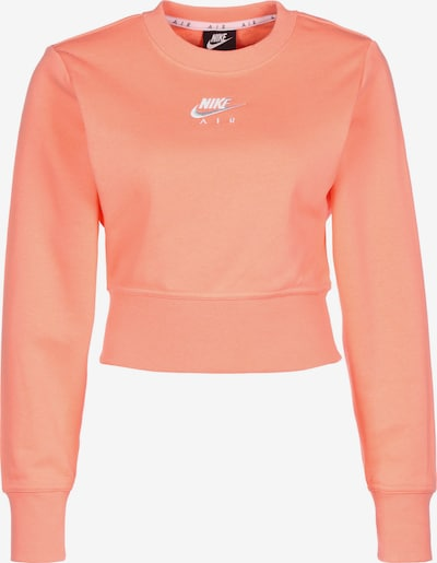 Nike Sportswear Sweatshirt in grau / apricot / weiß, Produktansicht