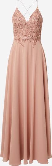 Laona Aftonklänning i gammalrosa, Produktvy