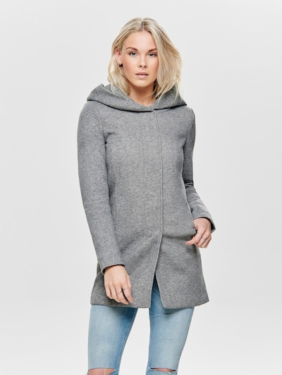 ONLY Between-seasons coat 'SEDONA' in light grey, View model