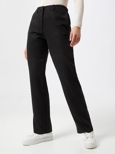 Samsoe Samsoe Hose 'Hoys' in schwarz, Modelansicht