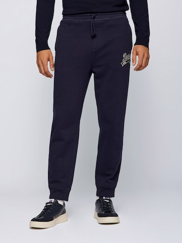 Pantaloni 'Jafa_Russell Athletic_2' di BOSS in blu