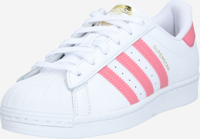 ADIDAS ORIGINALS Sneaker 'Superstar' in gold / hellpink / weiß, Produktansicht