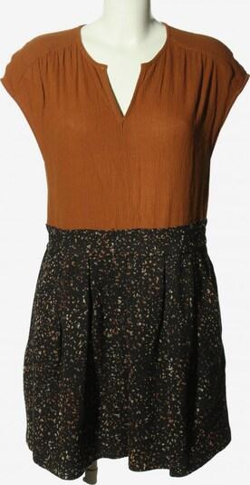 see U soon Minikleid in M in hellorange / schwarz, Produktansicht