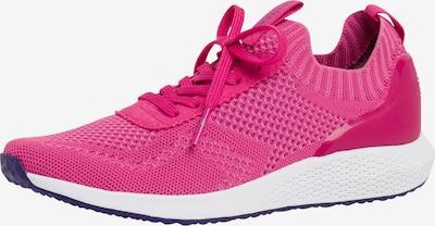 Tamaris Fashletics Sneakers laag in de kleur Donkerroze, Productweergave