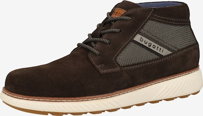 bugatti Sneaker in beige / braun / grau / grasgrün, Produktansicht