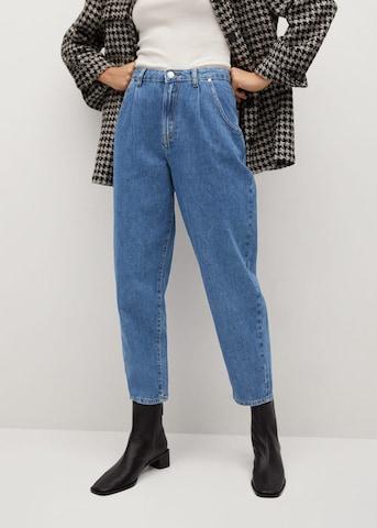 MANGO Jeans in Blauw