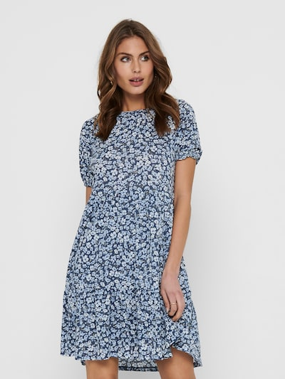 ONLY Kleid 'ONLPella' in indigo / hellblau / weiß, Modelansicht