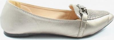 bpc bonprix collection Klassische Ballerinas in 36 in gold, Produktansicht