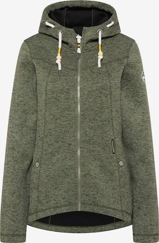 Schmuddelwedda Fleece Jacket in Green