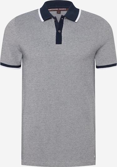 Michael Kors T-Shirt 'NOVELTY' en bleu foncé / gris / blanc, Vue avec produit