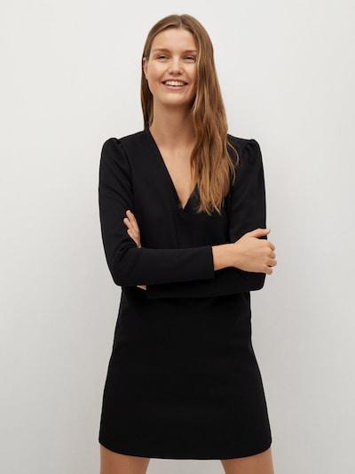 MANGO Kleid 'Carolina' in schwarz, Modelansicht
