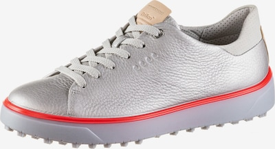 ECCO Sneaker 'W Golf Tray Lyra' in rot / silber, Produktansicht