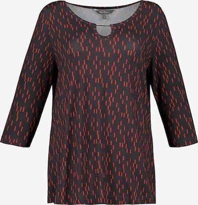 Ulla Popken Shirt in anthrazit: Frontalansicht