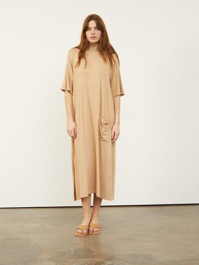 Aligne Kleid 'Cenni' in camel, Modelansicht