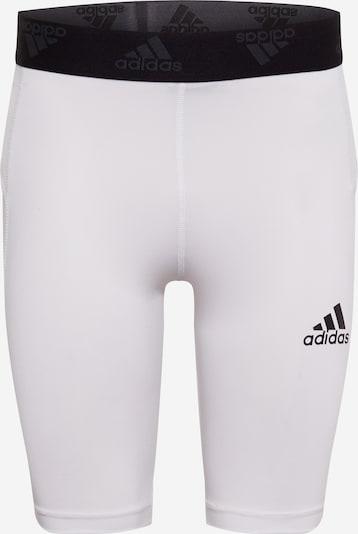 ADIDAS PERFORMANCE Športové nohavice - čierna / biela, Produkt