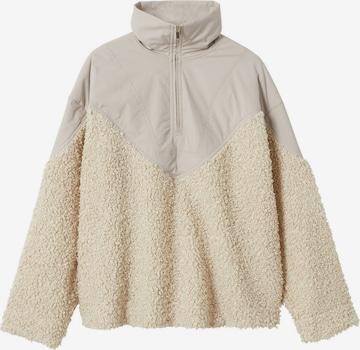 MANGO Sweatshirt 'Guito' in Beige