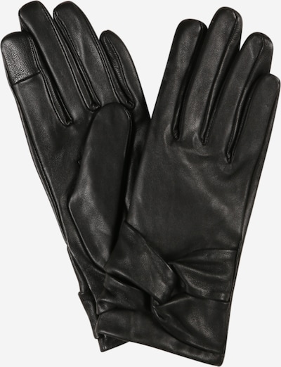 PIECES Γάντια με δάχτυλα 'SILLE' σε μαύρο, Άποψη προϊόντος