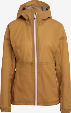 adidas Terrex Outdoor Jacket 'AGRAVIC' in Brown